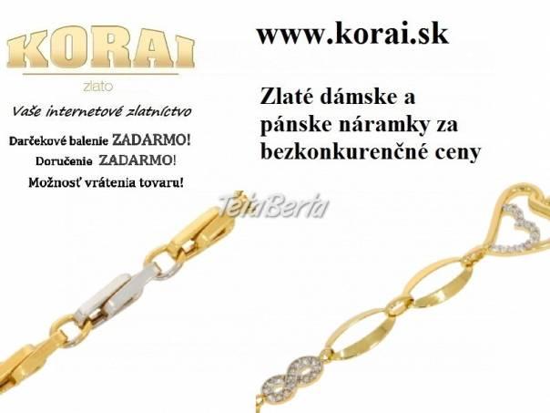 Zlaté náramky od KORAI, foto 1 Móda, krása a zdravie, Hodinky a šperky   Tetaberta.sk - bazár, inzercia zadarmo