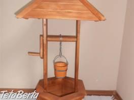 Drevená dekoratívná studňa do záhrady , Dom a záhrada, Záhradný nábytok, dekorácie  | Tetaberta.sk - bazár, inzercia zadarmo