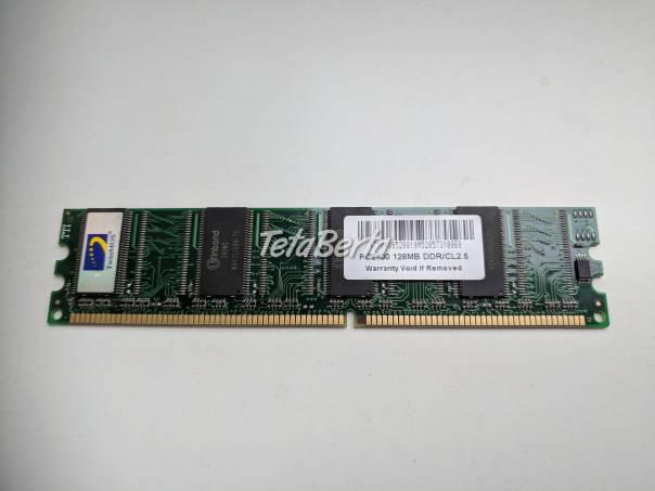 TwinMOS DDR 128MB, foto 1 Elektro, Pamäťové médiá | Tetaberta.sk - bazár, inzercia zadarmo