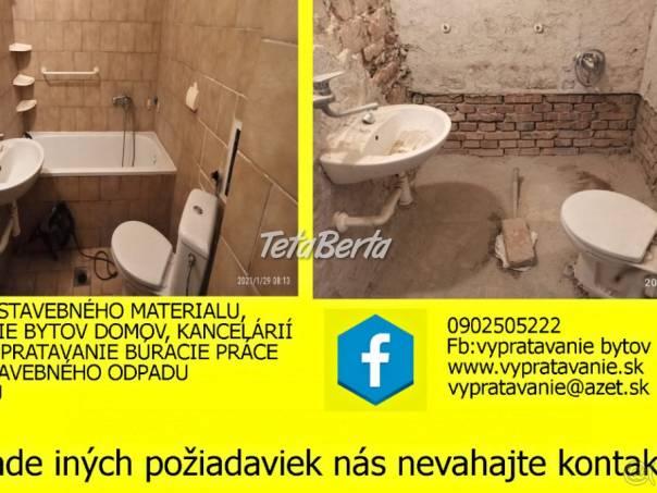Búracie práce,demolácie a demontáž zárubní, foto 1 Dom a záhrada, Stavba a rekonštrukcia domu | Tetaberta.sk - bazár, inzercia zadarmo