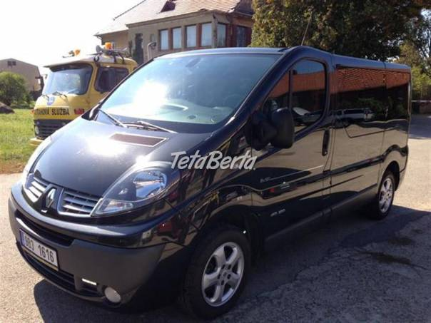 Renault Trafic 2.0 DCi, 8 MÍST, KLIMA, NAVI, foto 1 Auto-moto, Automobily | Tetaberta.sk - bazár, inzercia zadarmo
