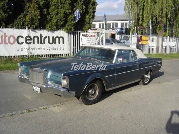 Lincoln Continental 7.5 MARK III V8, foto 1 Auto-moto, Automobily | Tetaberta.sk - bazár, inzercia zadarmo
