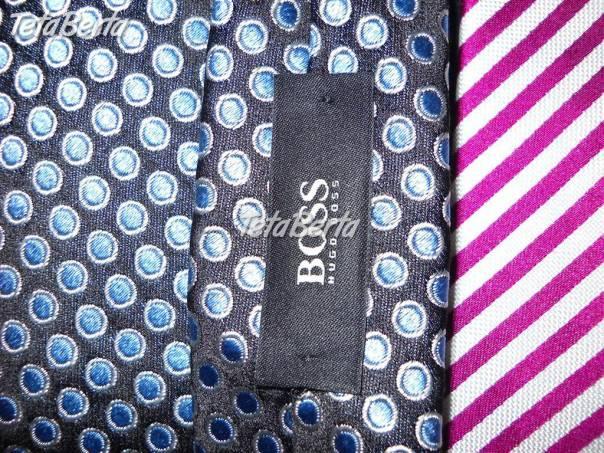 602cc48449b8 predam krasne znackove panske kravaty-ako novev perfektnom stave ...
