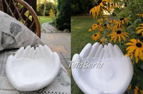 Dekorácia, miska - ruky, foto 1 Dom a záhrada, Záhradný nábytok, dekorácie   Tetaberta.sk - bazár, inzercia zadarmo