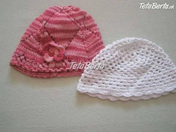 c0436fecb Háčkované čiapky, foto 1 Pre deti, Detské oblečenie   Tetaberta.sk - bazár