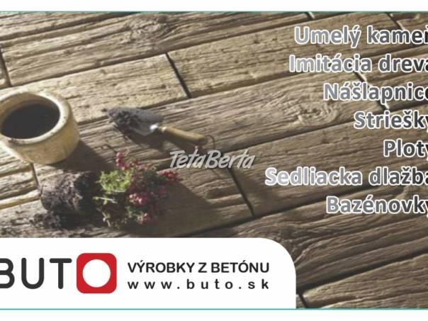 Drevobeton dlažba, foto 1 Dom a záhrada, Stavba a rekonštrukcia domu | Tetaberta.sk - bazár, inzercia zadarmo