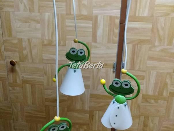 Predám detský luster žabky na strop miestnosti. Všetko potrebné na fotkách., foto 1 Elektro, Drobná domáca elektronika   Tetaberta.sk - bazár, inzercia zadarmo