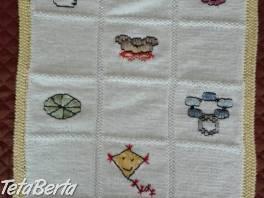 Ručne pletená deka pre bábätko , Pre deti, Kojenecké potreby  | Tetaberta.sk - bazár, inzercia zadarmo