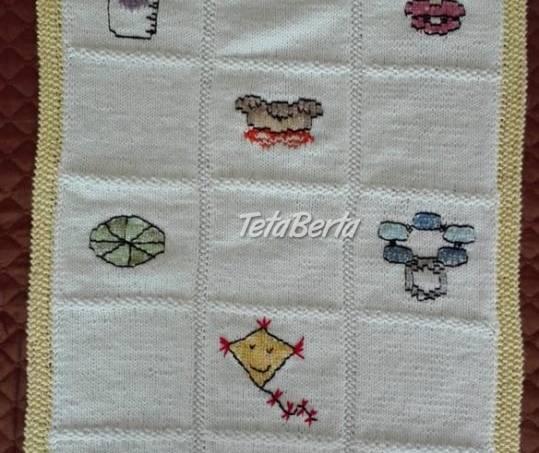 Ručne pletená deka pre bábätko, foto 1 Pre deti, Kojenecké potreby | Tetaberta.sk - bazár, inzercia zadarmo