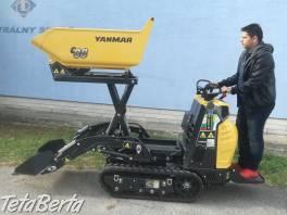 Dumper Yanmar so samonakladačom a vysokým vyklápaním , Poľnohospodárske a stavebné stroje, Stavebné stroje  | Tetaberta.sk - bazár, inzercia zadarmo
