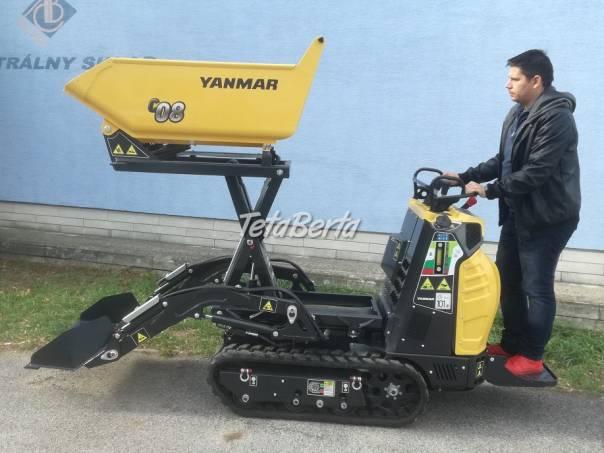Dumper Yanmar so samonakladačom a vysokým vyklápaním, foto 1 Poľnohospodárske a stavebné stroje, Stavebné stroje | Tetaberta.sk - bazár, inzercia zadarmo