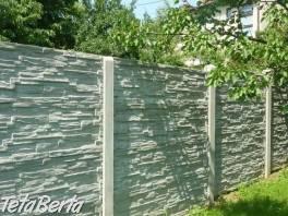 BETÓNOVĚ PLOTY- Ihneď k odberu. , Dom a záhrada, Brány a ploty  | Tetaberta.sk - bazár, inzercia zadarmo