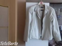 Bielý kožený kabátik , Móda, krása a zdravie, Oblečenie  | Tetaberta.sk - bazár, inzercia zadarmo
