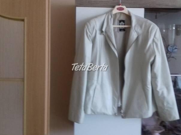Bielý kožený kabátik, foto 1 Móda, krása a zdravie, Oblečenie | Tetaberta.sk - bazár, inzercia zadarmo