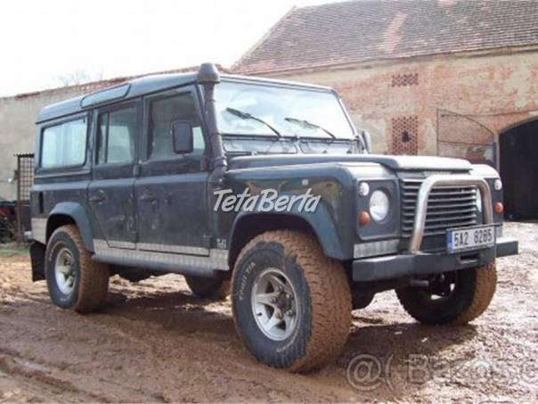Land Rover Defender Land Rover Defender 110 rozprodám na díly, foto 1 Auto-moto   Tetaberta.sk - bazár, inzercia zadarmo