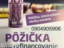 Pôžička na refinancovanie , Obchod a služby, Financie  | Tetaberta.sk - bazár, inzercia zadarmo