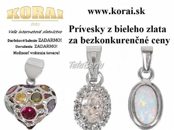 Prívesky z bieleho zlata od KORAI 32b558c919e