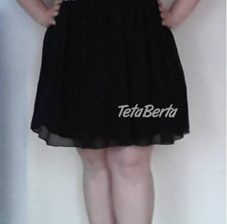Spoločenské čierne šaty pre moletky 52/54, foto 1 Móda, krása a zdravie, Oblečenie | Tetaberta.sk - bazár, inzercia zadarmo