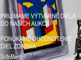 Prijímame výtvarné diela do jarnej aukcie obrazov