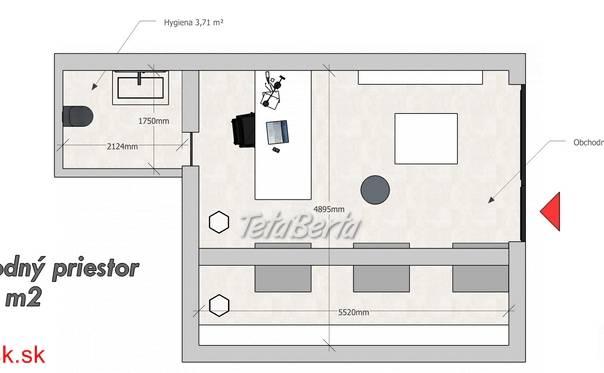 Predáme obchodný priestor, 31,34 m² + parkovacie státie, Žilina - širšie centrum, R2 SK., foto 1 Reality, Kancelárie a obch. priestory | Tetaberta.sk - bazár, inzercia zadarmo