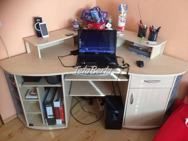 Predám rohový písací stolík, foto 1 Dom a záhrada, Stoly, pulty a stoličky | Tetaberta.sk - bazár, inzercia zadarmo
