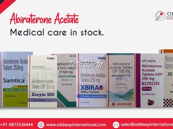 Náklady na abiraterón-acetát v Indii - veľkoobchodný dodávateľ liekov, foto 1 Móda, krása a zdravie, Starostlivosť o zdravie | Tetaberta.sk - bazár, inzercia zadarmo