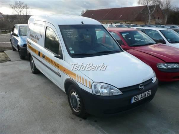 Opel Combo 1.7 di tel:, foto 1 Auto-moto | Tetaberta.sk - bazár, inzercia zadarmo