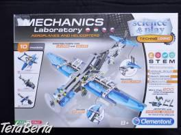 Mechanics Laboratory - lietadlá a helikoptéry , Pre deti, Hračky  | Tetaberta.sk - bazár, inzercia zadarmo