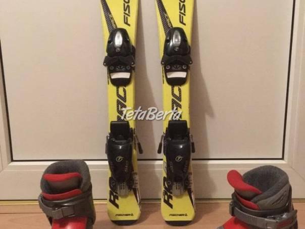 Detský lyžiarský set FISHER : lyže 70 cm + lyžiarky 194mm, foto 1 Hobby, voľný čas, Šport a cestovanie | Tetaberta.sk - bazár, inzercia zadarmo