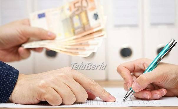Ponuka pôžičky medzi jednotlivcami, foto 1 Zvieratá, Príslušenstvo a krmivo | Tetaberta.sk - bazár, inzercia zadarmo