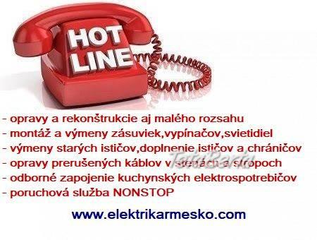 Elektrikár Bratislava + okolie NONSTOP, foto 1 Dom a záhrada, Opravári a inštalatéri   Tetaberta.sk - bazár, inzercia zadarmo