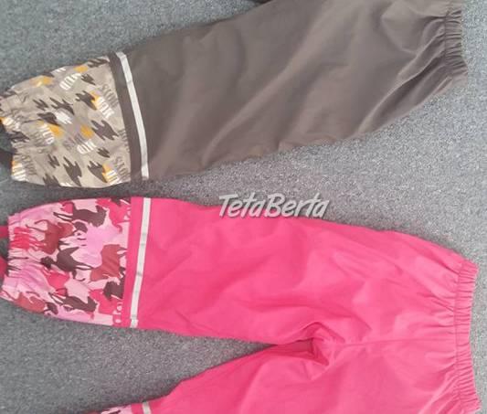 Zateplené zánovné nepremokavé nohavice v.122/128, zn. lupilu, použité iba 1x, ako nové,vhodné ako dar, foto 1 Pre deti, Detské oblečenie | Tetaberta.sk - bazár, inzercia zadarmo