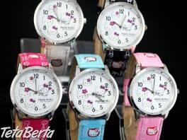 Senzačné Hello Kitty hodinky , Móda, krása a zdravie, Hodinky a šperky    Tetaberta.sk - bazár, inzercia zadarmo