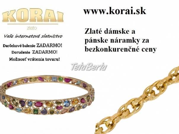 Náramky zo žltého zlata od KORAI, foto 1 Móda, krása a zdravie, Hodinky a šperky | Tetaberta.sk - bazár, inzercia zadarmo