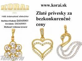 Prívesky zo žltého zlata od KORAI , Móda, krása a zdravie, Hodinky a šperky  | Tetaberta.sk - bazár, inzercia zadarmo