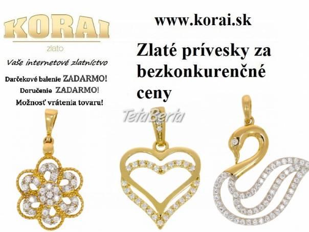 Prívesky zo žltého zlata od KORAI, foto 1 Móda, krása a zdravie, Hodinky a šperky | Tetaberta.sk - bazár, inzercia zadarmo