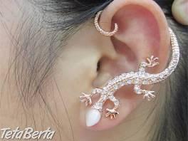 Naušnica 120 - na jedno ucho - strieborna , Móda, krása a zdravie, Hodinky a šperky  | Tetaberta.sk - bazár, inzercia zadarmo