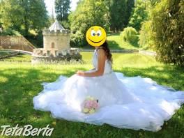 Predám nádherné svadobné šaty , Móda, krása a zdravie, Svadby, plesy, oslavy    Tetaberta.sk - bazár, inzercia zadarmo