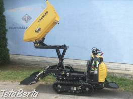 Dumper pasovy Yanmar C08 Hi Tip so samonakladačom a vysokým vyklápaním , Poľnohospodárske a stavebné stroje, Stavebné stroje  | Tetaberta.sk - bazár, inzercia zadarmo