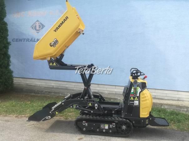 Dumper pasovy Yanmar C08 Hi Tip so samonakladačom a vysokým vyklápaním, foto 1 Poľnohospodárske a stavebné stroje, Stavebné stroje | Tetaberta.sk - bazár, inzercia zadarmo