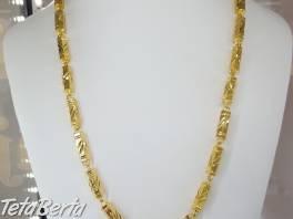 Zlata retiazka-imitacia , Móda, krása a zdravie, Hodinky a šperky  | Tetaberta.sk - bazár, inzercia zadarmo