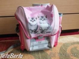 Predám školskú tašku- mačky. , Pre deti, Školské potreby    Tetaberta.sk - bazár, inzercia zadarmo