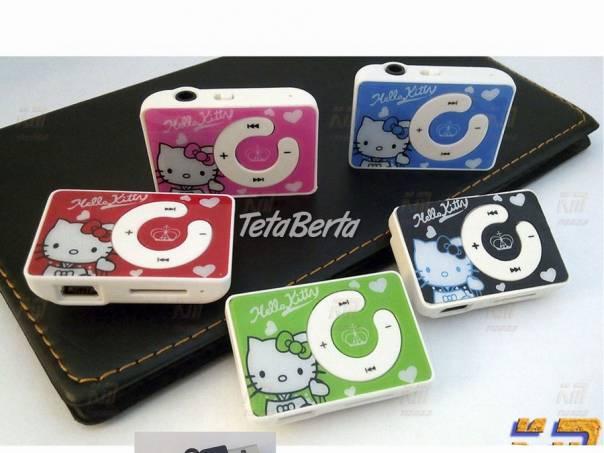 Hello Kitty mp3 prehrávač, foto 1 Elektro, MP3, audio   Tetaberta.sk - bazár, inzercia zadarmo
