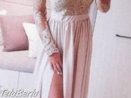 Dlhé spoločenské šaty Emo veľ. 40 , Móda, krása a zdravie, Svadby, plesy, oslavy  | Tetaberta.sk - bazár, inzercia zadarmo
