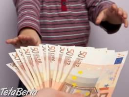 Finančná pomoc bez protokolu. , Hobby, voľný čas, Udalosti a predstavenia  | Tetaberta.sk - bazár, inzercia zadarmo