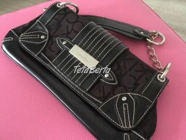 Predám originál kabelku Calvin Klein, foto 1 Móda, krása a zdravie, Kabelky a tašky | Tetaberta.sk - bazár, inzercia zadarmo