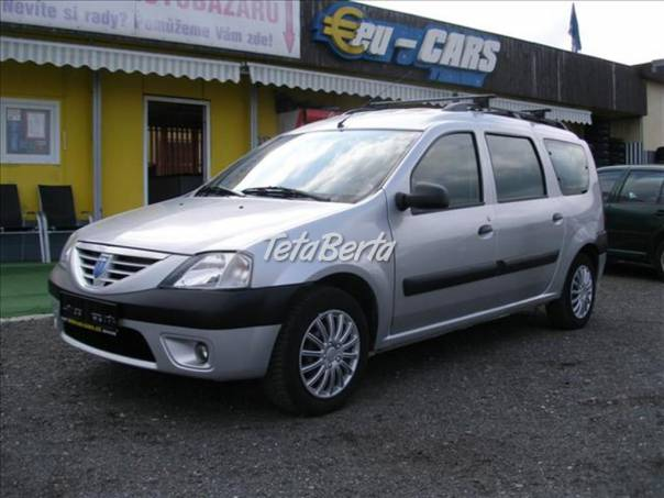 Dacia Logan 1,6   ABS,KLIMA,7 MÍST, foto 1 Auto-moto, Automobily | Tetaberta.sk - bazár, inzercia zadarmo