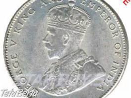 Predám Mincu Ceylon 50cents korunovačnú r.1920 , Hobby, voľný čas, Umenie a zbierky  | Tetaberta.sk - bazár, inzercia zadarmo