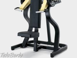 Posilovací stroj Technogym - Shoulder Press Pure Strength - Repasovaný , Hobby, voľný čas, Šport a cestovanie    Tetaberta.sk - bazár, inzercia zadarmo