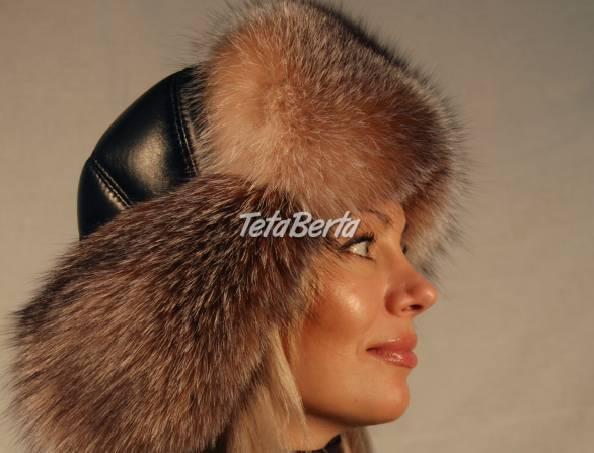 aa76c40c11 Luxusná dámska čiapka z kožušiny mývala.